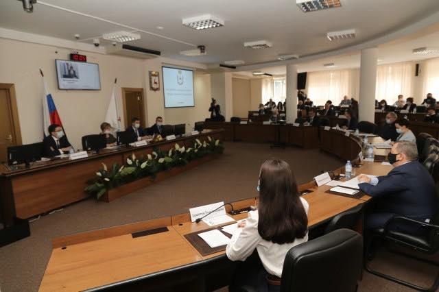Участие в работе постоянных комиссий городской Думы Нижнего Новгорода